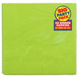 Kiwi Big Party Packs 2-Ply Dinner Napkins | St. Patrick's Day Tableware