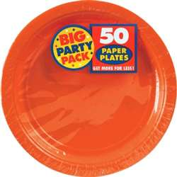 "Orange Peel Plates 7"" 50 ct 