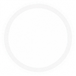 "Frosty White 7"" Paper Plates 