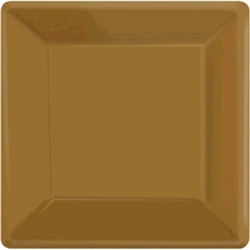 "Gold 7"" Paper Plates - 20ct. 
