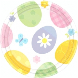 "Eggstravaganza Round 7"" Plates 