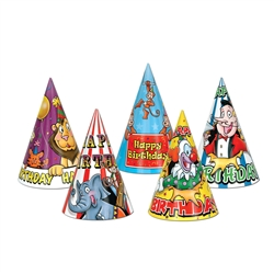Circus Birthday Hats