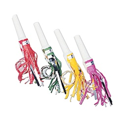 Assorted Fringed Party Blowouts