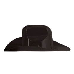 Black Miniature Plastic Cowboy Hat