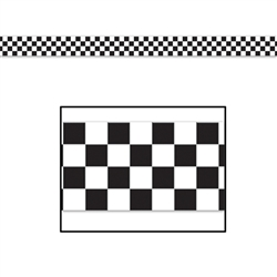 Checkered Poly Decorating Material