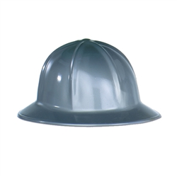 Gray Plastic Construction Helmet