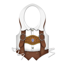 Packaged Plastic Oktoberfest Vest