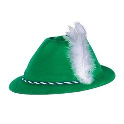 Green Party Hats for Sale