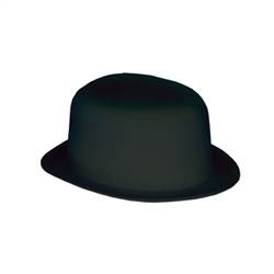 Black Velour Derby