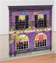 Mardi Gras Scene Setters Wall Decorating Kit | Mardi Gras party supplies
