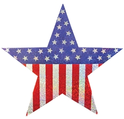 Patriotic Hanging Stars | Party Supplies