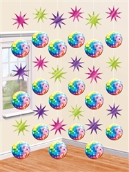 Disco Fever String Decoration | Party Supplies