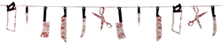 Bloody Weapon Garland | Party Supplies