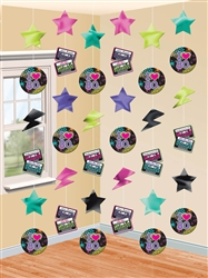 Totally 80's String Decorations | Party Supplies