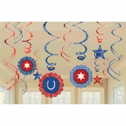 Bandana & Blue Jeans Value Pack Swirls | Party Supplies
