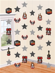 Rock On String Decorations | Pary Supplies