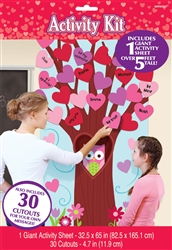 Valentine's Day Decorating Activity Kit | party supplies
