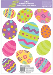 Easter Egg Window Decorations | Party Supplies