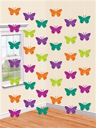 Spring Butterflies String Decoration | Party Supplies