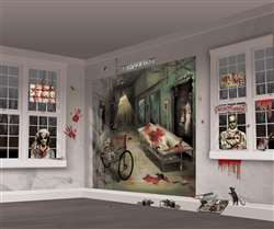 Asylum Scene Setters Mega Value Wall Decor Kit | Party Supplies