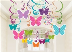Spring Mega Value Pack Swirl Decorations | Party Supplies