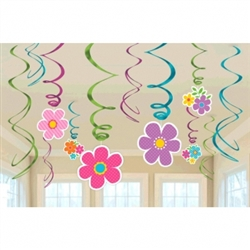 Spring Value Pack Swirl Decorations | Party Supplies