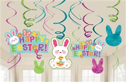 Easter Value Pack Swirl Decorations | Party Supplies