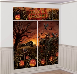 Field of Screams Scene Setters Wall Decorating Kit | Party Supplies
