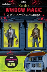 Zombie Window Magic Decorations | Party Supplies