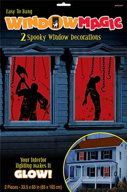 Bloody Window Magic Decorations | Party Supplies