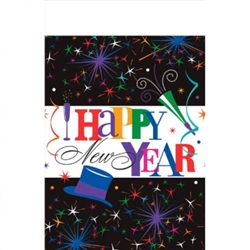 Ring in the New Year Table Covers | New Year's Eve Party Supplies