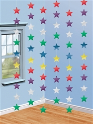 Multi Star String Decoration | Party Supplies
