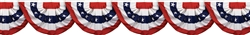 Patriotic Bunting Border Roll | Party Supplies