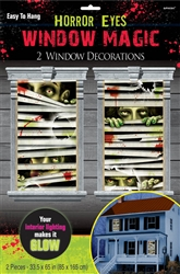Horror Eyes Window Magic Decorations | Party Supplies