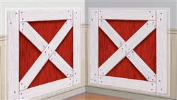 Barn Shutters Plastic Add-Ons | Party Supplies