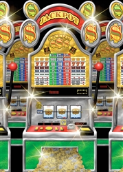 Slot Machine Scene Setters Room Roll | Party Supplies