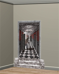 Gothic Mansion Long Hallway Scene Setters Add-Ons | Party Supplies