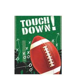 Football Frenzy Plastic Table Cover | Party Supplies