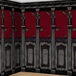 Gothic Mansion 2-Pack Scene Setters | Party Supplies