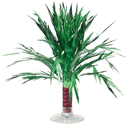 Mini Palm Tree Foil Centerpiece | Party Supplies