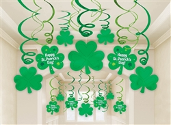 St. Patrick's Day Swirl Mega Value Pack | Hanging Decorations