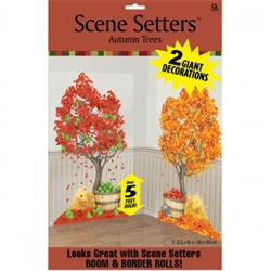 Scene Setters Add-Ons Tree w/Autumn Icons | Party Supplies