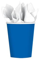 Bright Royal Blue 9 oz. Cups | Party Supplies