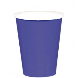 New Purple 9oz Paper Cups - 20ct | Party Supplies