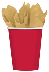 Winter Holiday 9oz, Paper Cups | Party Supplies