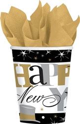 Elegant Celebration Cups New Year's Eve Tableware