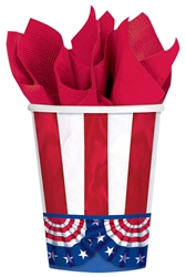 American Pride 9 oz Cups | Party Supplies
