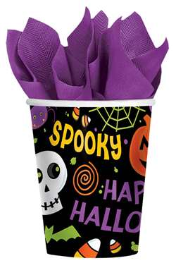 Spooktacular Cups, 9 oz. | Party Supplies
