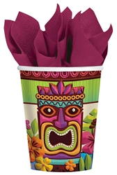 Tropical Tiki Cups | Luau Party Supplies