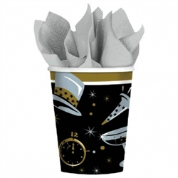 Black Tie Affair Cups | New Year's Eve Tableware